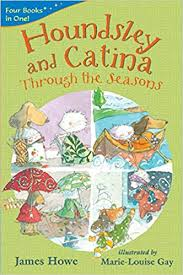 Houndsley and Catina Through the Seasons
