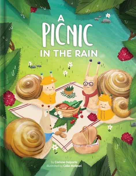A picnic in the rain