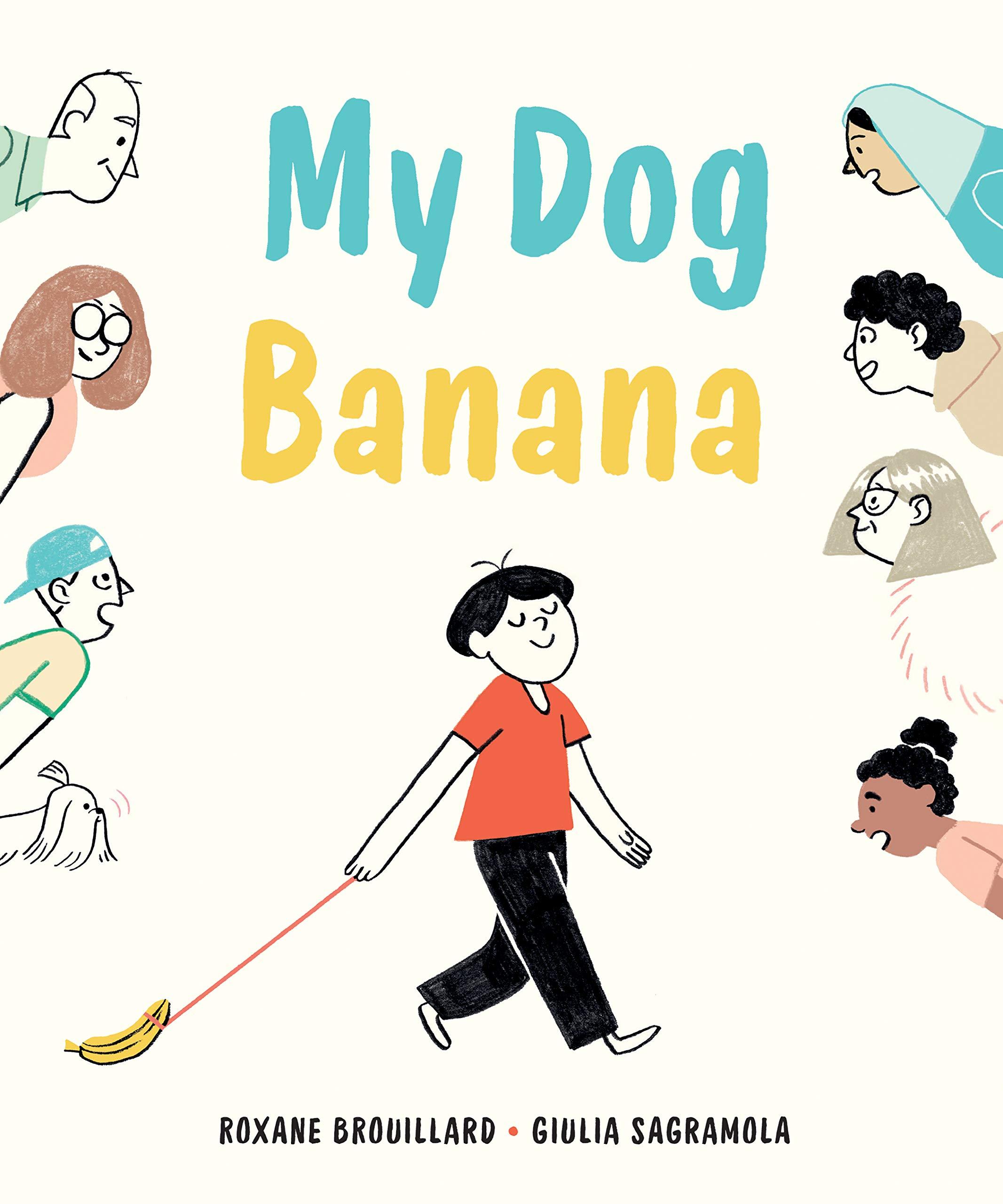 My dog banana